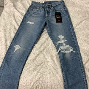 Levi's Nice as Pie 501 Skinny Non-Stretch Jeans